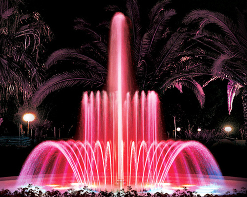 Outdoor Fountains Exhibites Excellent Light Reflecting Properties When  Illuminated At Night. Suitable For Commercial U0026 Landscape Projects.